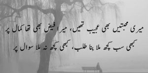 best two lines sad shayari
