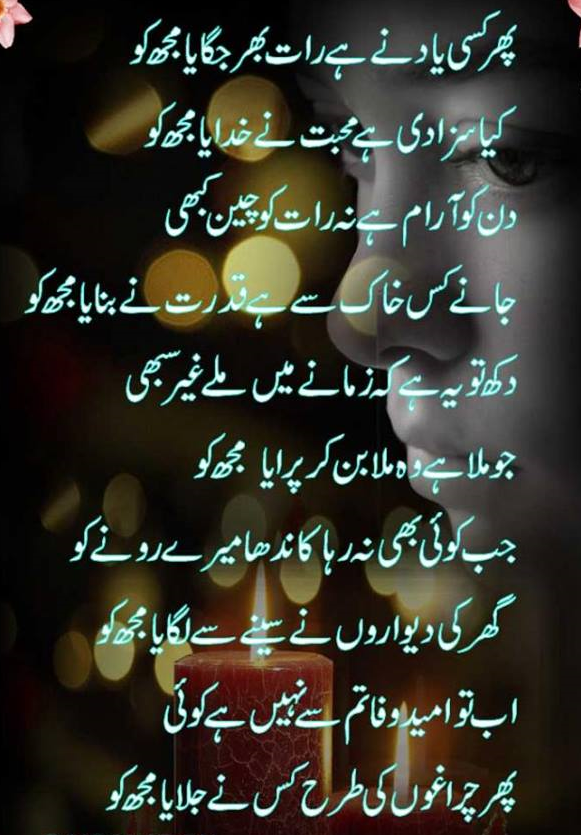 Urdu Poetry Shayari Pictures