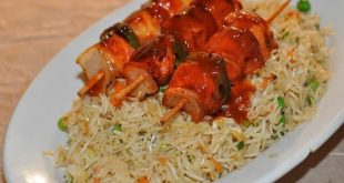 shashlik rice recipe