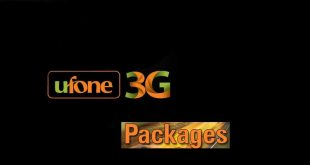 ufone 3g monthly package