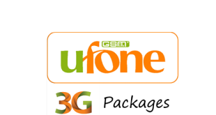 ufone 3g weekly package