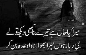 2 line sad urdu poetry