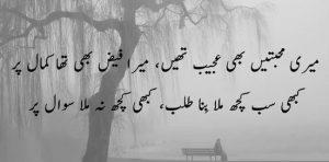 best two lines sad shayari
