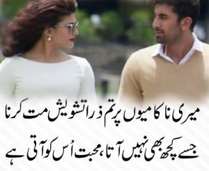 sad poetry in two lines
