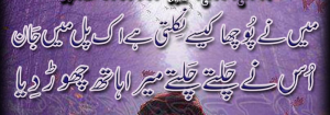 sad shayari 2 lines