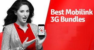 mobilink monthly 3g package