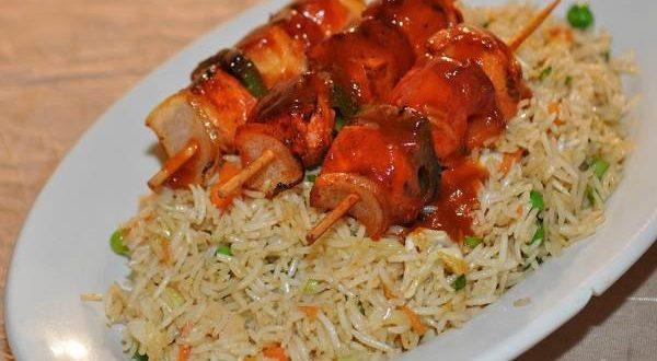 shashlik rice recipe