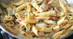 chicken creamy pasta recipes